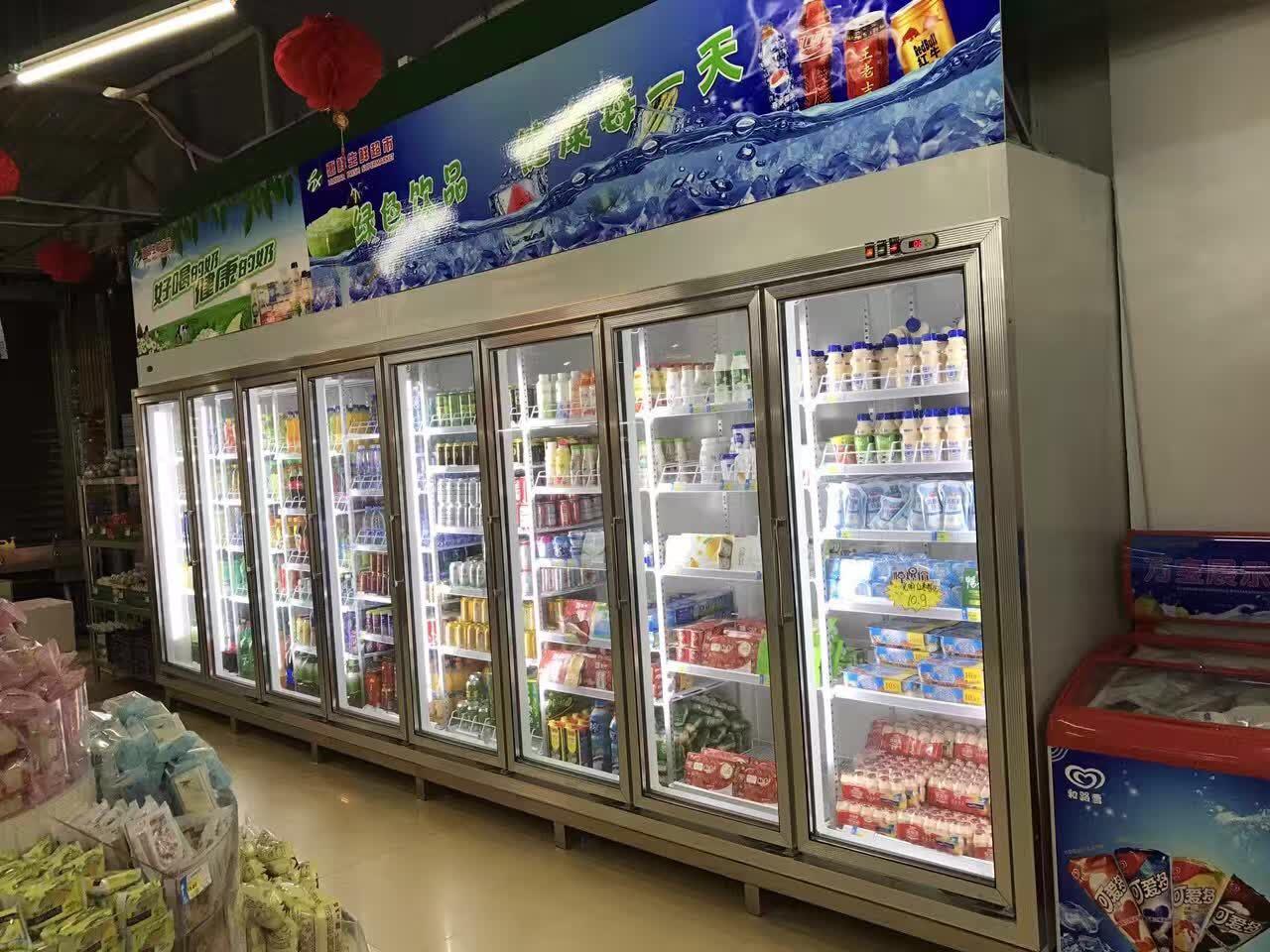 四川饮料柜品牌/成都食品保鲜柜几多钱/成都市绿峰制冷设置装备摆设无限公司