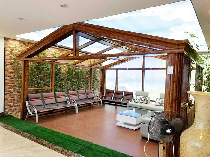 阳光房安装材料 隔音窗品牌 成都格林春天建材有限公司