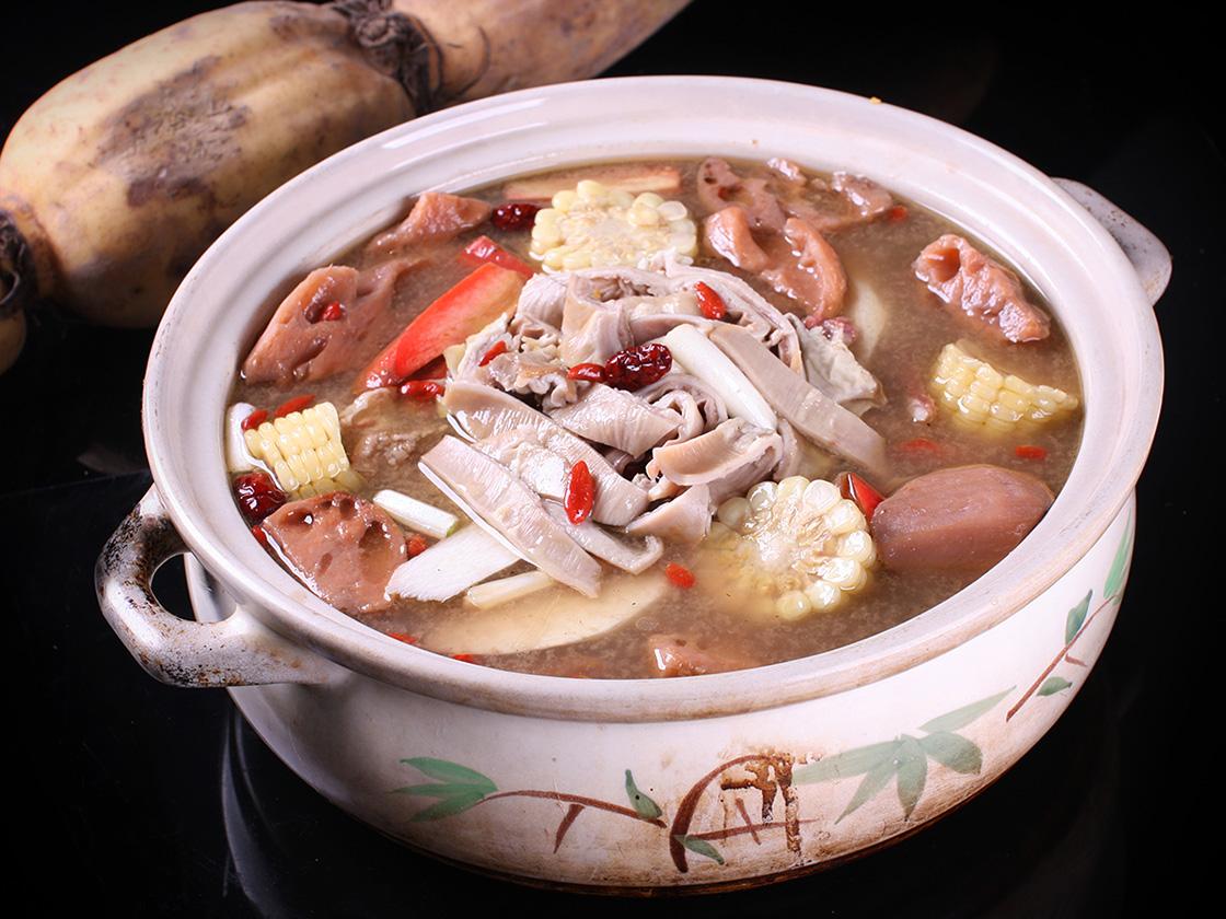 去重庆 美味莲藕养生汤 重庆藕之缘餐饮文化管理有限公司