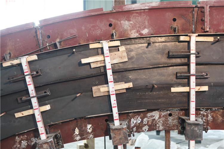 隧道台车端头模供应商 橡胶立杆伸缩堵头板厂家 四川皓德斯新材料科技有限公司