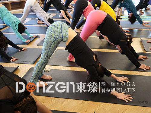 东臻维密健身课教练 垫上普拉提培训 河南东臻健身服务有限公司