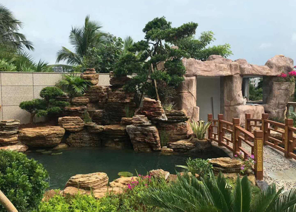日式庭院设计公司_流水墙_武汉骏民造景园林艺术景观有限公司