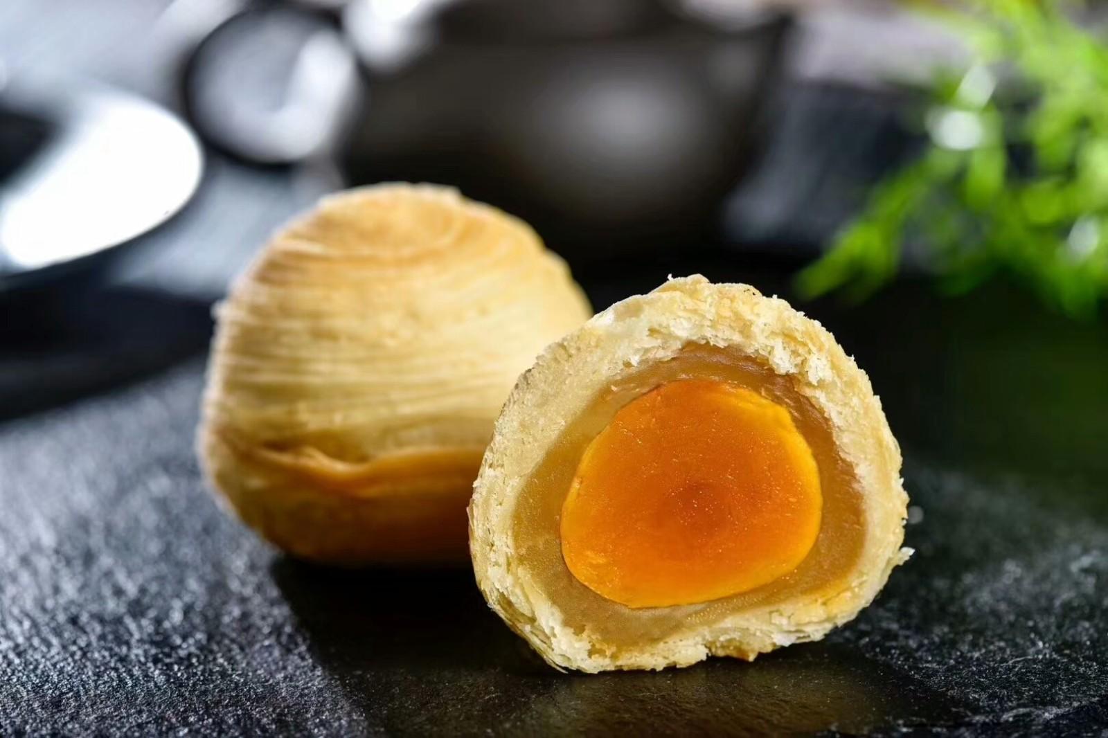 潮式中秋月饼厂家直供 云腿酥皮月饼礼盒装 四川裕佳食品有限公司