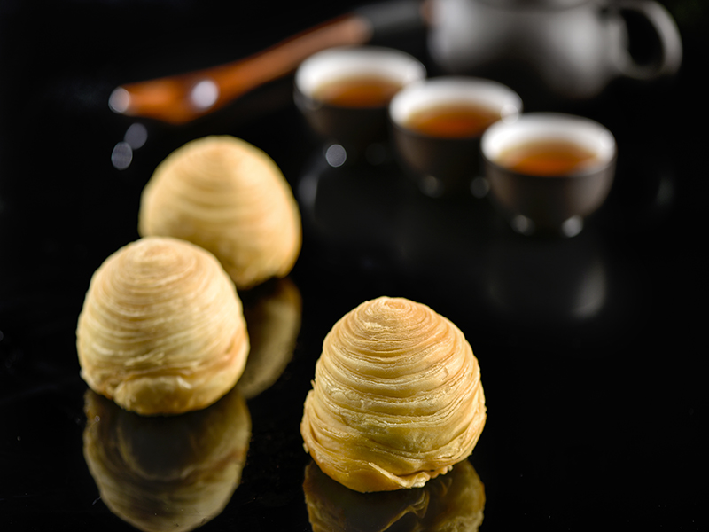 京式手工月饼厂家 精品酥皮月饼价格 四川裕佳食品有限公司