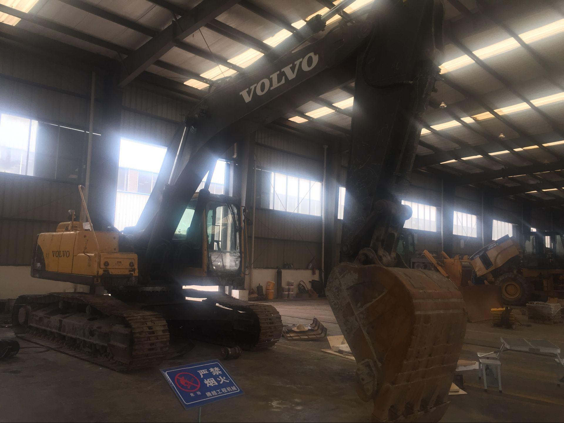 西南地区沃尔沃挖掘机维修_成都腾越进口工程机械维修有限公司
