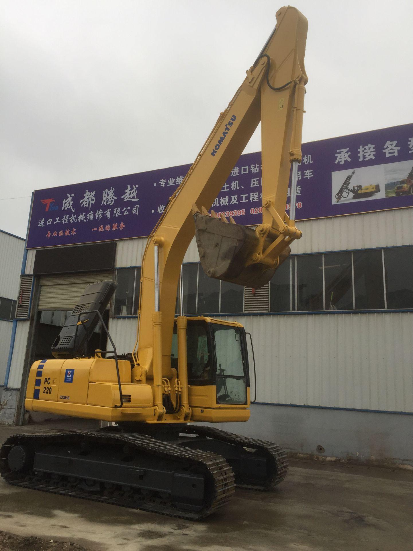 液压小松挖掘机检修_成都腾越进口工程机械维修有限公司