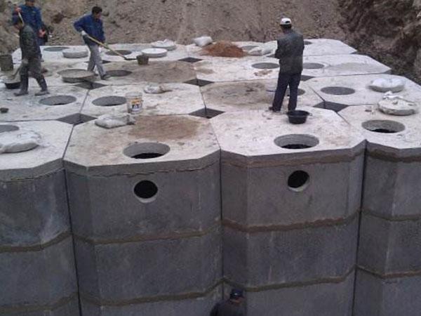 西安钢筋混凝土化粪池安装_保护膜网