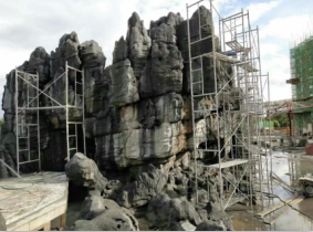 思卓假山雕塑制作流程_95供求网