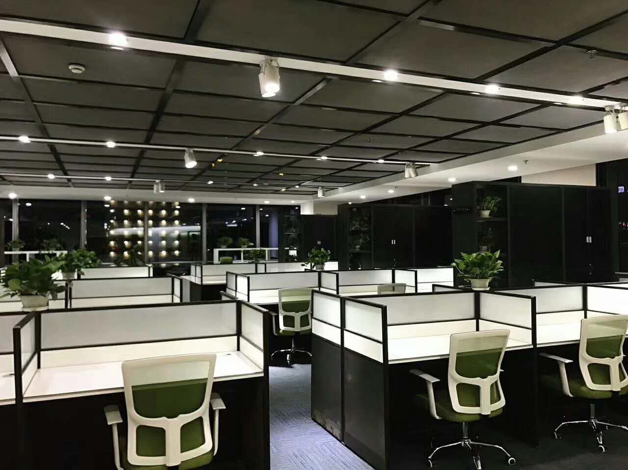 中式办公室家具设计_电机之家