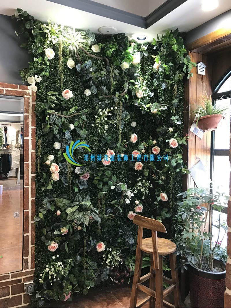 酒店绿植墙价格_电机之家