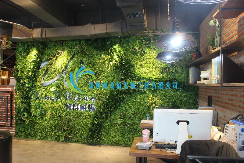 室内仿真绿植墙找哪家_郑州绿茂植装饰工程有限公司