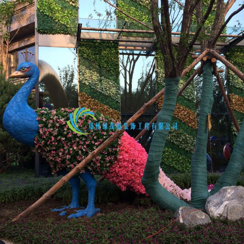 我们推荐室外仿真绿植景观电话_郑州树木盆景