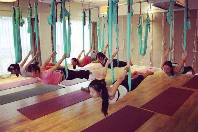 空中瑜伽培训教学费用_运动、休闲教学-北京吉祥梅朵文化发展有限责任公司