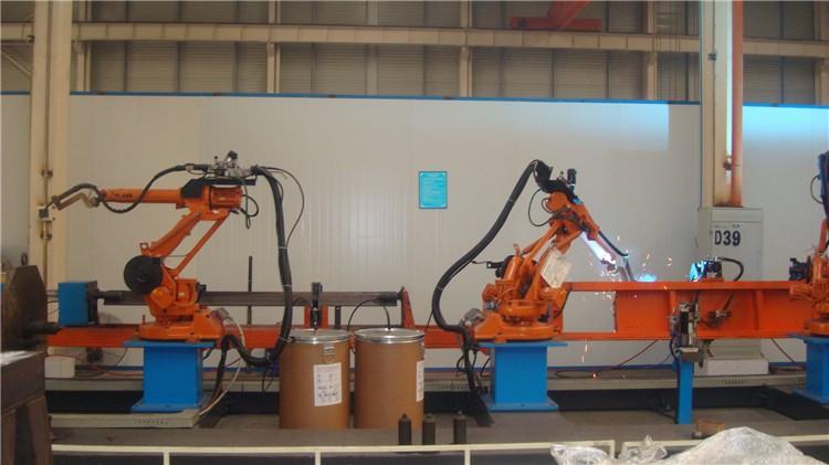码垛及搬运机器人系统_回转式激光焊机-四川蓉诺科技有限公司