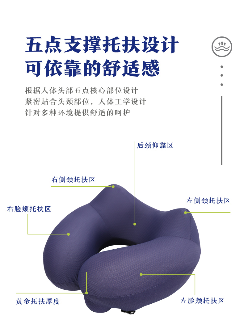 充气颈枕代理_枕芯价格-广州好用科技有限公司