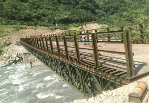 貴州貝雷橋租賃_鋼結構多少錢-四川康健鋼結構工程有限公司