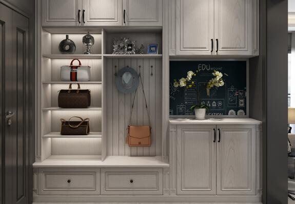 鞋柜设计尺寸_品牌鞋柜、鞋架整体定制-成都黄埔仁和家居有限责任公司