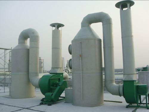 乡镇废气处理案例_废气吸附装置相关-四川鸿富电子商务有限公司