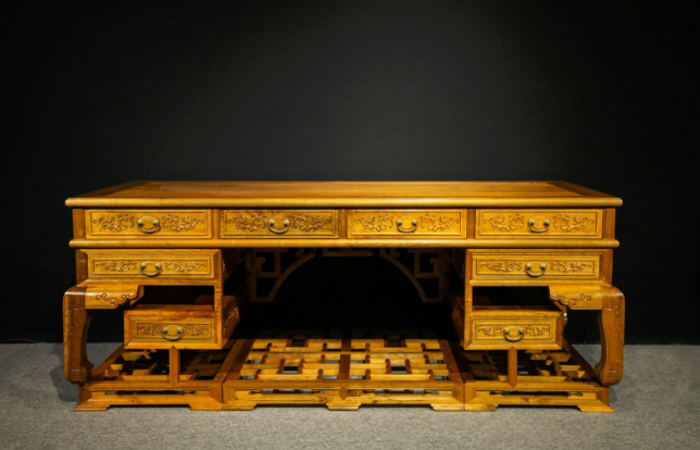 古典金丝楠家具圆桌 服务商古典家具